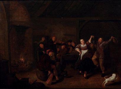 EGBERT VAN HEEMSKERCK (HAARLEM 1666 - LONDRES 1744)