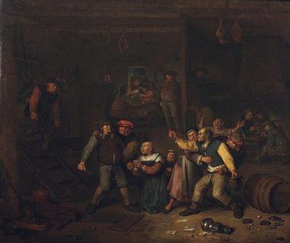 EGBERT VAN HEEMSKERCK (HAARLEM 1634 - LONDRES 1704)