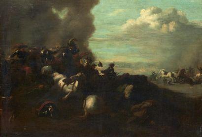 ECOLE ITALIENNE DU XVIIIE SIÈCLE, ENTOURAGE DE FRANCESCO SIMONINI