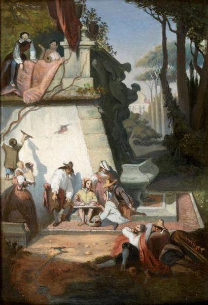 LOUIS JULIEN LENOBLE (? 1815 - COUTANCES 1876)
