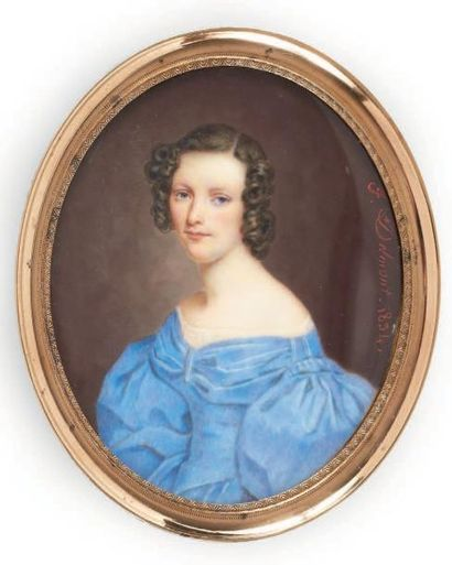 FÉLIX DELMONT (PARIS, 31 AOÛT 1794 - OCTOBRE 1867)