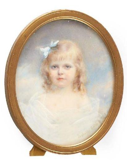 MADAME ISABELLE GELÉE (ÉCOLE FRANÇAISE VERS 1900)