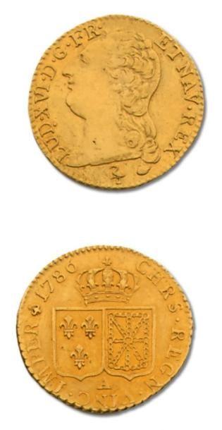 Louis XVI (1774-1793) Louis au buste nu....