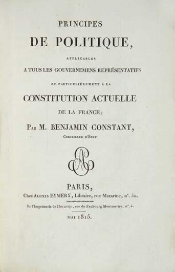 CONSTANT (Benjamin)