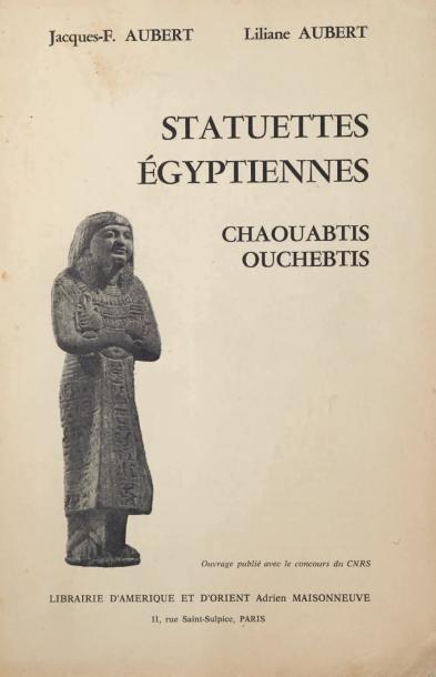 AUBERT J. & L Statuettes égyptiennes. Chaouabtis, ouchebtis. Paris, 1974, broché