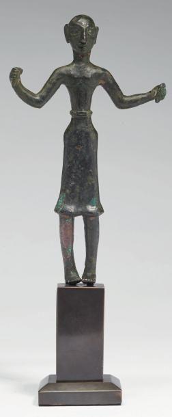 STATUETTE D'ORANT. Statuette représentant...