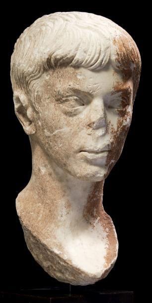 PORTRAIT DE PATRICIEN JULIO-CLAUDIEN. Portrait...
