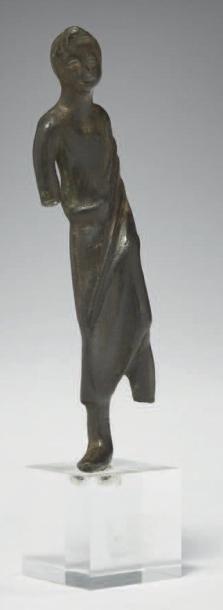 ORANT GALLO-ROMAIN. Statuette représentant...