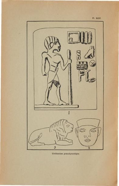OUVRAGES D'ARCHÉOLOGIE ÉGYPTIENNES: - Crowfoot Payne J., Catalogue of the predynastic...