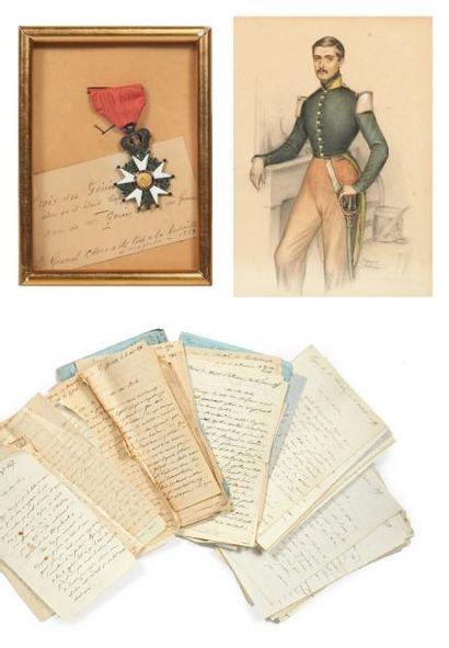 CLER Gustave (1814-1859) général de brigade, tué à Magenta