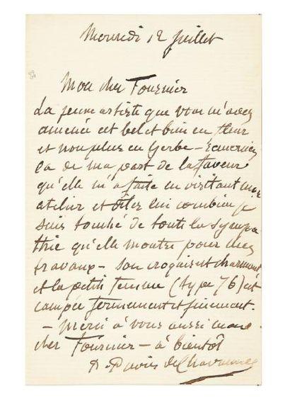PUVIS DE CHAVANNES Pierre (1824-1898) peintre