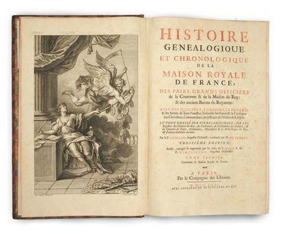 ANSELME (Père) et DU FOURNY (Honoré Caille)