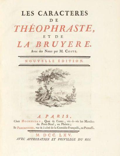 LA BRUYERE (Jean de)