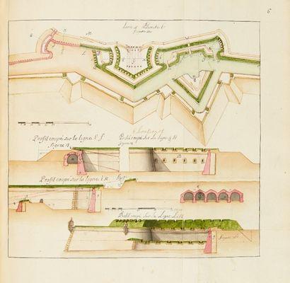 [MANUSCRIT]. Traitté [sic] des fortifications....
