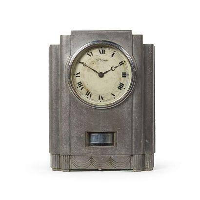 ATMOS / JAEGER LECOULTRE PAR J.L REUTTER Rare pendule modèle «FJ1» dite «Juke box»...