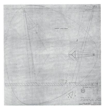 JEAN PROUVÉ (1901-1984) & CHARLOTTE PERRIAND (1903-1999) Rare table modèle «n°407b»...
