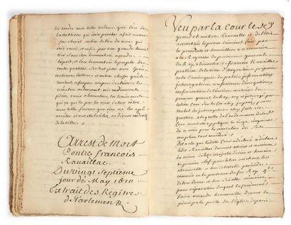 [RAVAILLAC (François, 1577-1610) assassin d'Henri IV]