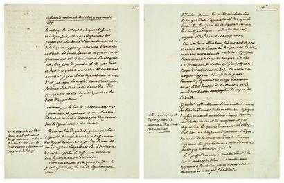 CAMBACÉRÈS (Jean-Jacques-Régis de, 1753-1824)