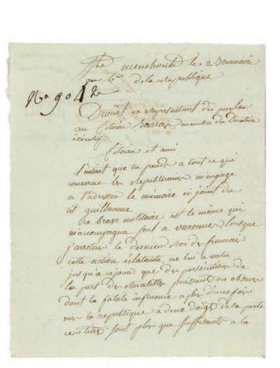 DROUET (Jean-Baptiste, 1763-1824)