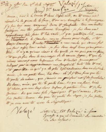 DUFRICHE-VALAZÉ (Charles-Eléonor,1751-1793)