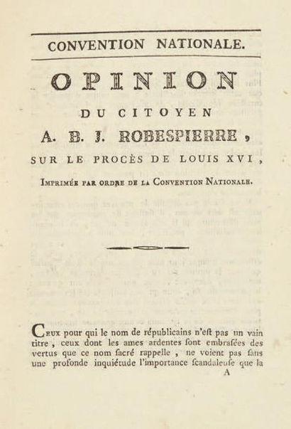 [LOUIS XVI]. Recueil de 30 pièces relatives...