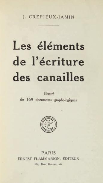 CRÉPIEUX-JAMIN (Jules)