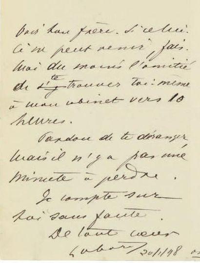 [DREYFUS]. Fernand LABORI (1860-1917) avocat,...