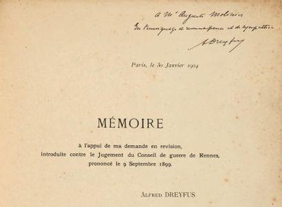[DREYFUS]. Imprimé: Affaire Dreyfus. Révision....