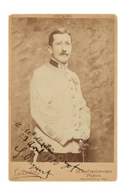 [DREYFUS]. Georges PICQUART (1854-1914) colonel,...