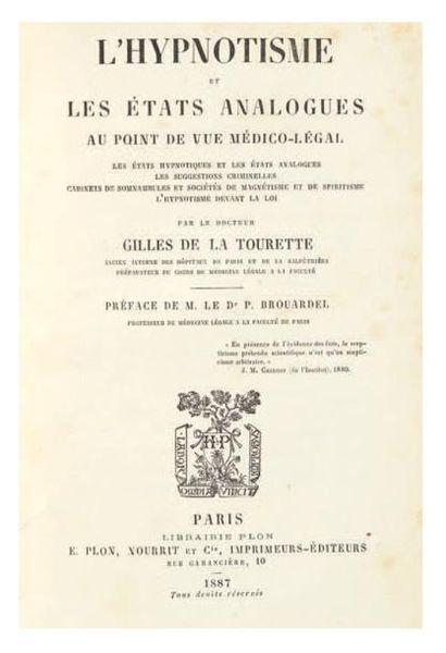 GILLES DE LA TOURETTE (Georges)