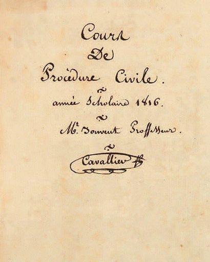 [JOUVENT (Barthélemy, 1763-1831)