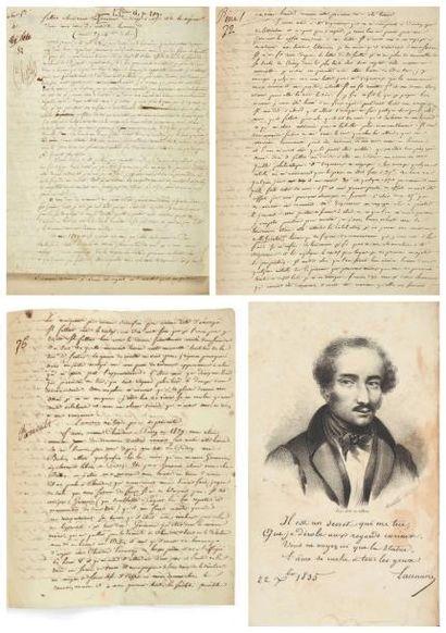 LACENAIRE (Pierre-François, 1803-1836) assassin et écrivain