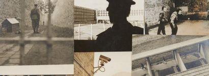 [PRISONS]. Ensemble de photographies de prisons....