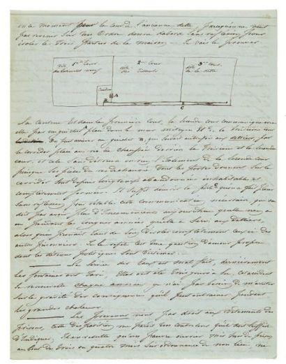 PRISONNIERS POLITIQUES. 31 lettres, copies...