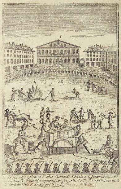[DAMIENS] Pièces originales et procédures du procès fait à Robert-François Damiens,...
