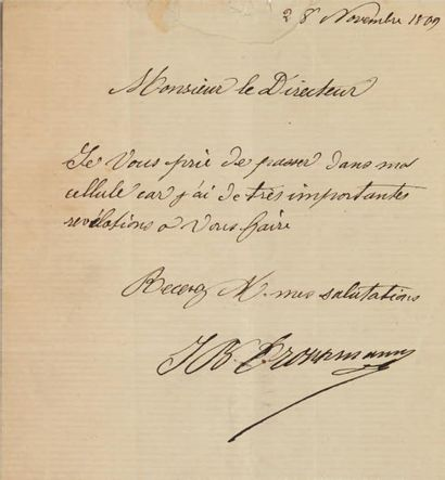TROPPMANN (Jean-Baptiste, 1849-1870)