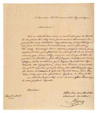 VIDOCQ (François, 1775-1857) Policier et détective