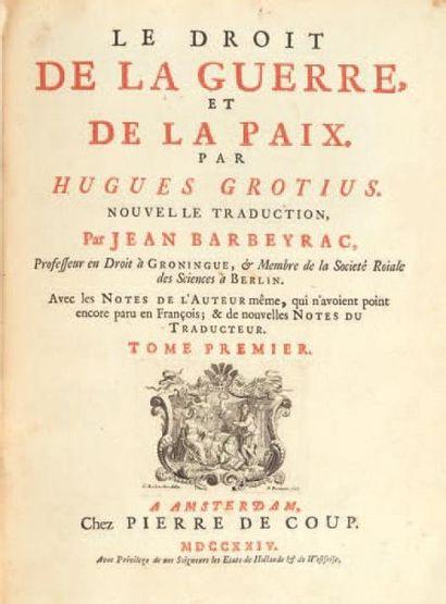 GROTIUS (Hugo DE GROOT, dit)
