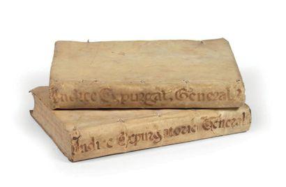 Index librorum prohibitorum, ac expurgandorum...