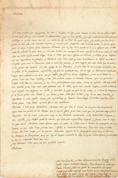 LATUDE (Henri Masers de, 1725-1805)