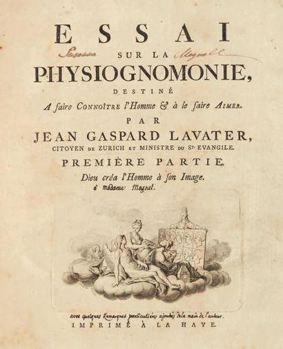 LAVATER (Jean Gaspard)