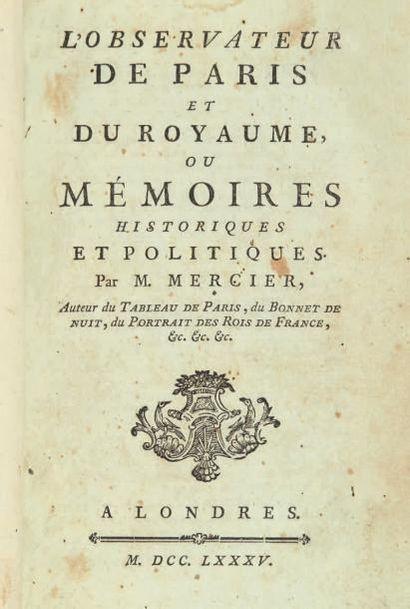MERCIER (Louis-Sébastien)