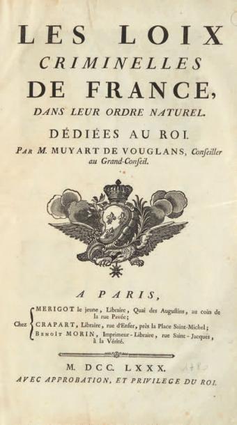 MUYART DE VOUGLANS (Pierre-François)