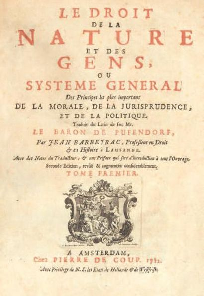 PUFENDORF (Samuel, baron de)