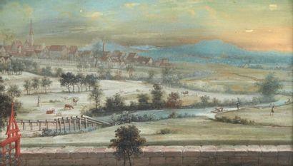 ATTRIBUÉ À HENRI JOSEPH BLARENBERGHE (1741-1826)