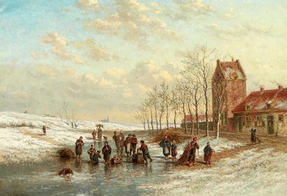 JOHAN NICOLAAS VAN LOKHORST (UTRECHT 1837-1894)