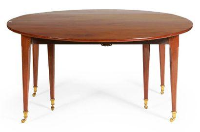 TABLE DE SALLE À MANGER de forme ronde en...