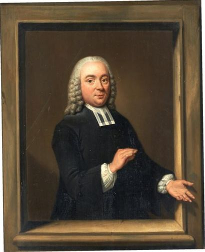 TIEBOUT REGTERS (DORDRECHT 1710-AMSTERDAM 1768) Portrait de Willem van den Broek...