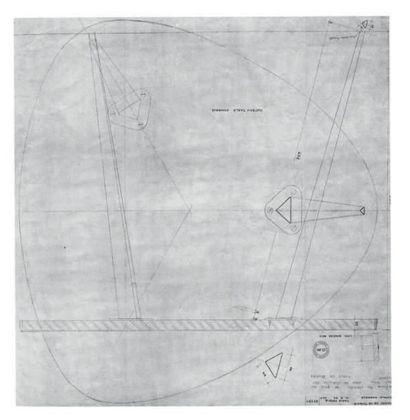 Albert Ráfols Casamada (1923-2009) Ocre i gris, 1988 Peinture sur toile. Signée et...
