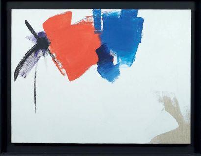 Jean MIOTTE (Né en 1926) Composition, Septembre 1972 Acrylique sur toile. Signée...